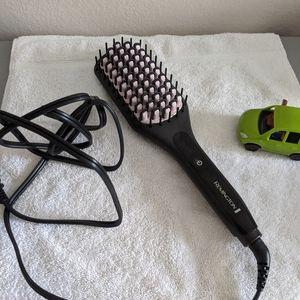 Remington hair brush straightener